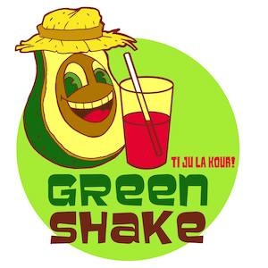 food truck Green Shake St Pierre