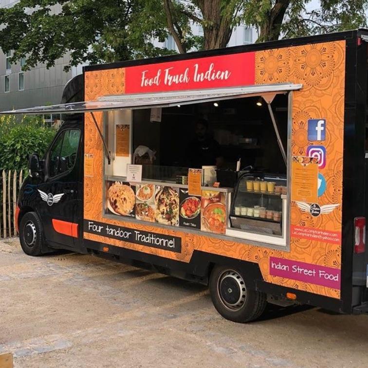food truck Le Comptoir Indien