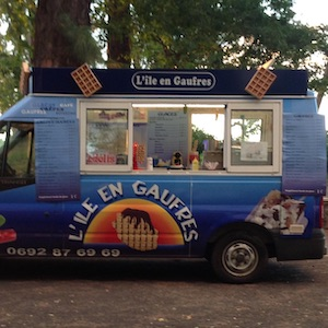 food truck L'ile En Gaufres